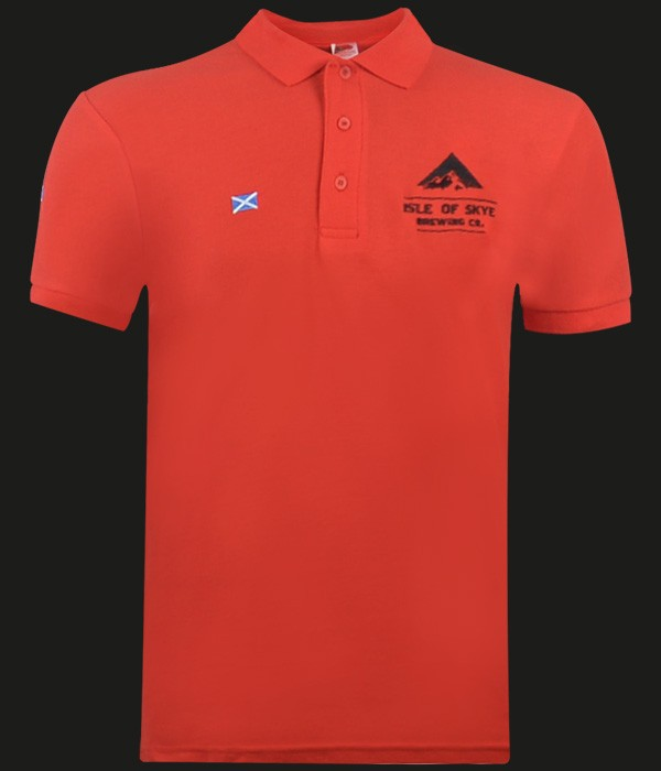 Skye Polo Shirt (Red)